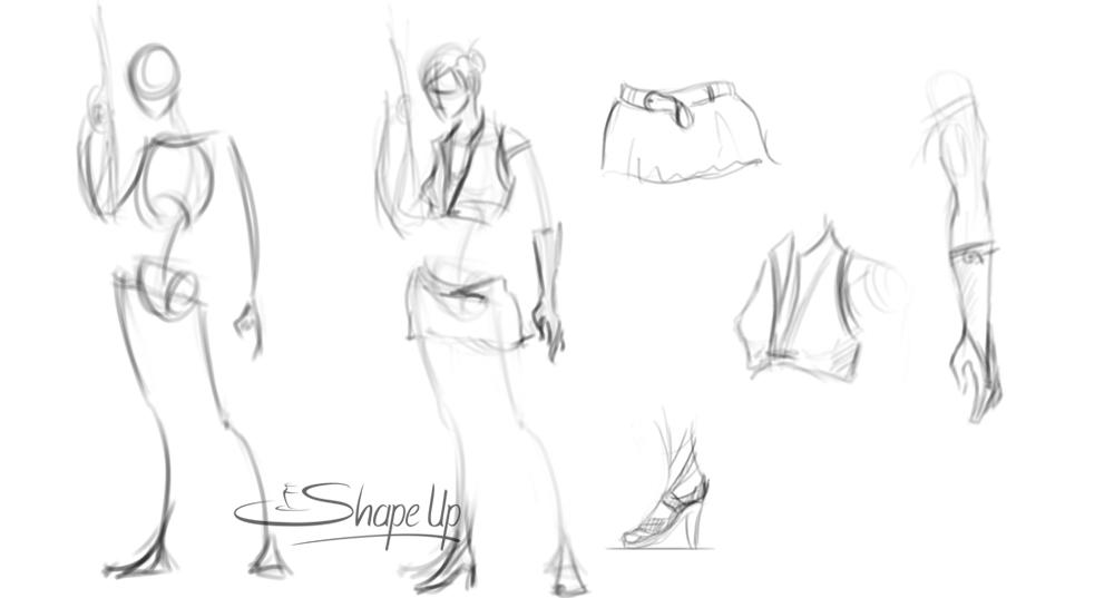 Character Design : 3D Stills : Work in Progress